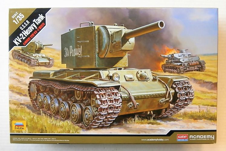 ACADEMY 1/35 13506 U.S.S.R. KV-2 HEAVY TANK