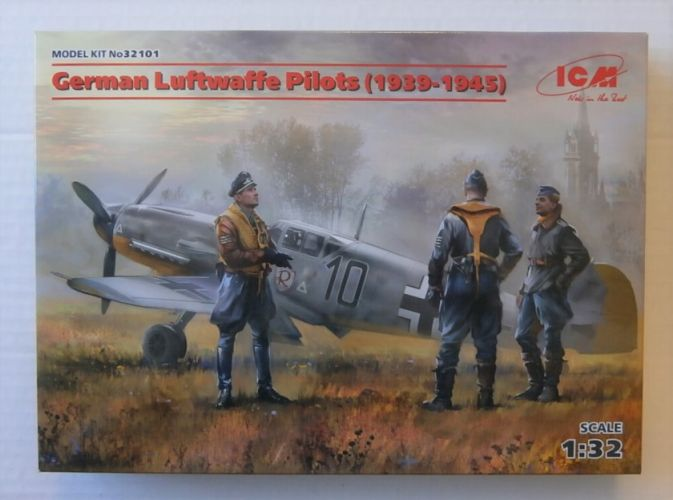 ICM 1/32 32101 GERMAN LUFTWAFFE PILOTS 1939-1945