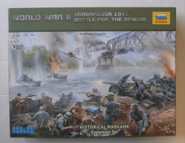 ZVEZDA 1/72 6177 WORLD WAR II BARBAROSSA 1941 BATTLE FOR THE DANUBE EXPANSION SET