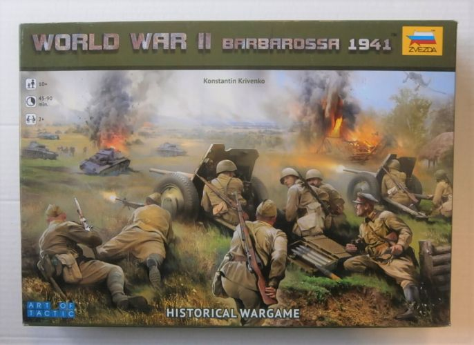 ZVEZDA 1/72 6134 WORLD WAR II BARBAROSSA 1941  UK SALE ONLY