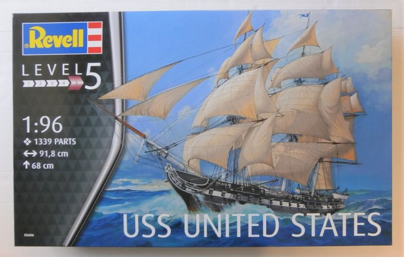REVELL 1/96 05606 USS UNITED STATES  UK SALE ONLY