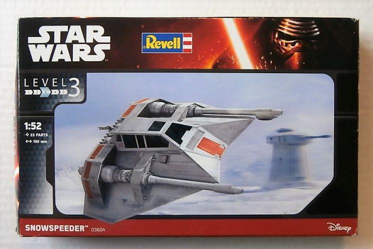 REVELL 1/52 03604 STAR WARS SNOWSPEEDER