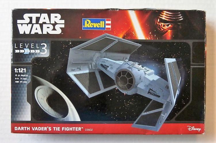 REVELL 1/121 03602 STAR WARS DARTH VADERS TIE FIGHTER