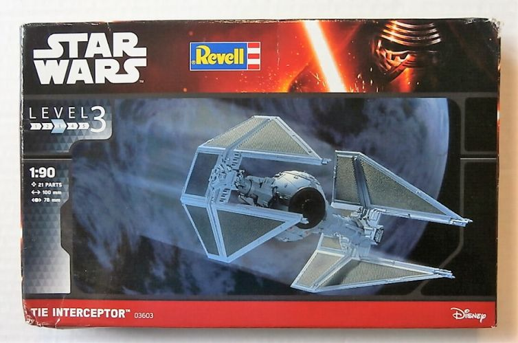 REVELL 1/90 03603 STAR WARS TIE INTERCEPTOR