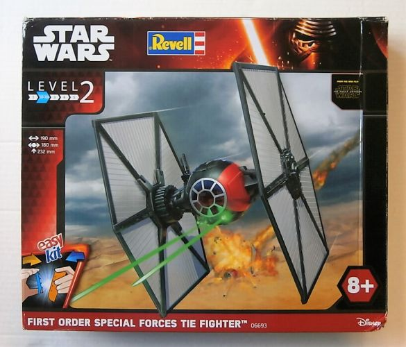 REVELL  06693 STAR WARS FIRST ORDER SPECIAL FORCES TIE FIGHTER