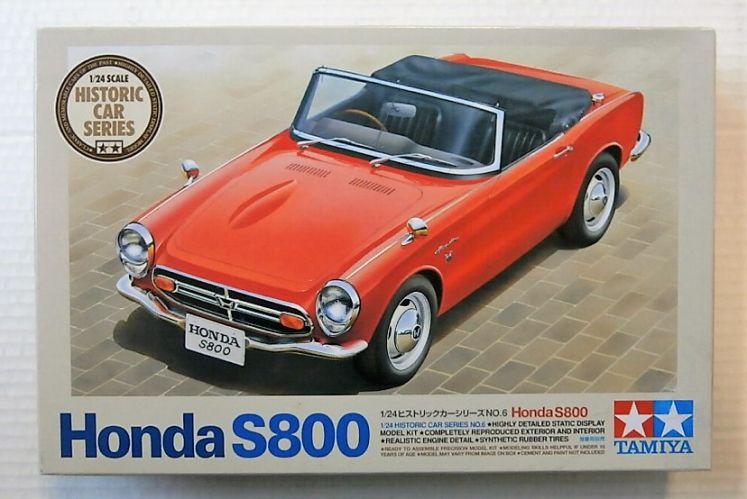 TAMIYA 1/24 89657 HONDA S800