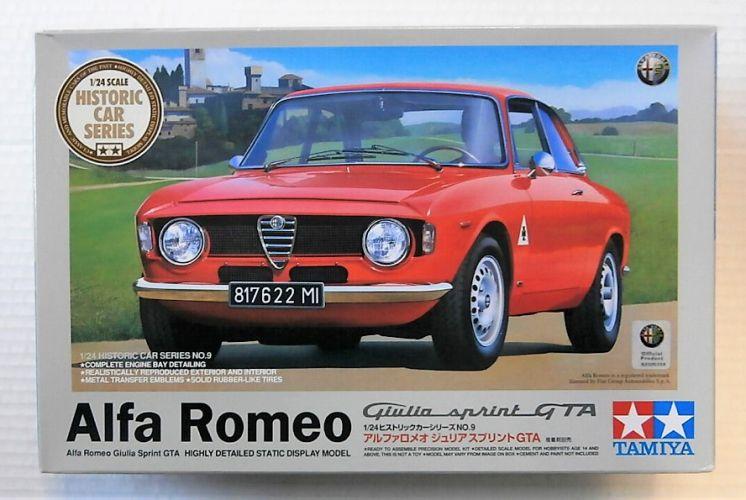 TAMIYA 1/24 89677 ALFA ROMEO GIULIA SPRINT GTA