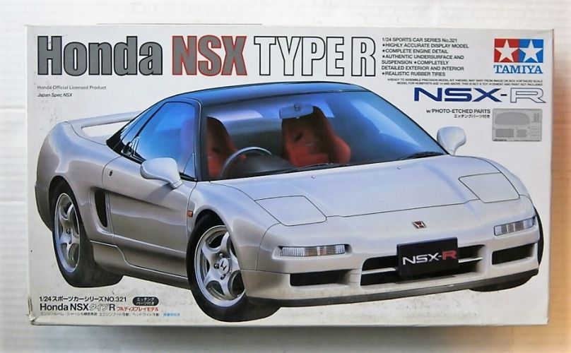 TAMIYA 1/24 24321 HONDA NSX TYPE R