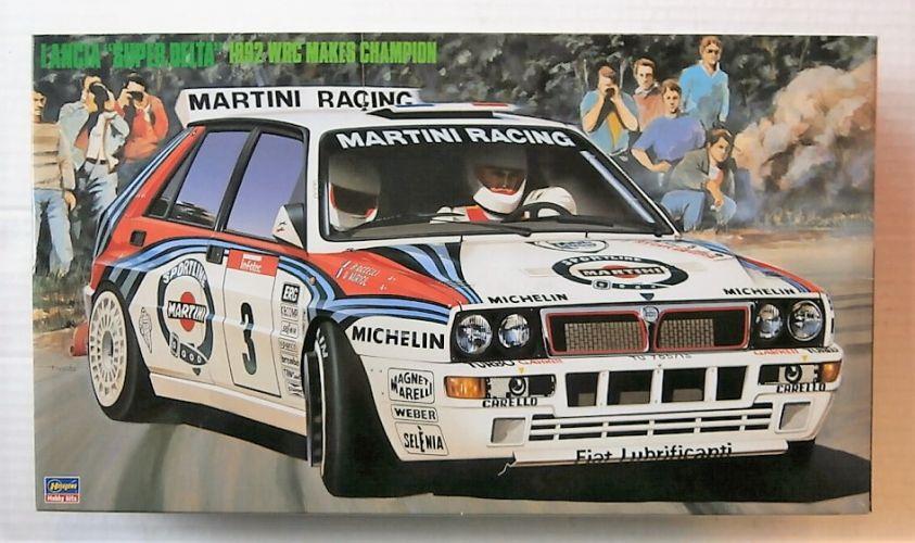 HASEGAWA 1/24 CR-15 LANCIA SUPER DELTA 1992 WRC MAKES CHAMPION