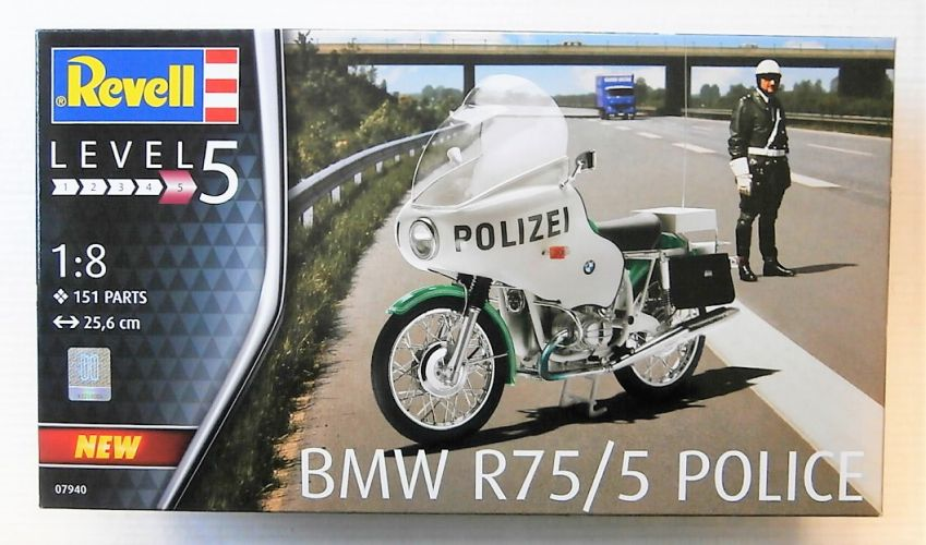 REVELL 1/8 07940 BMW R75/5 POLICE