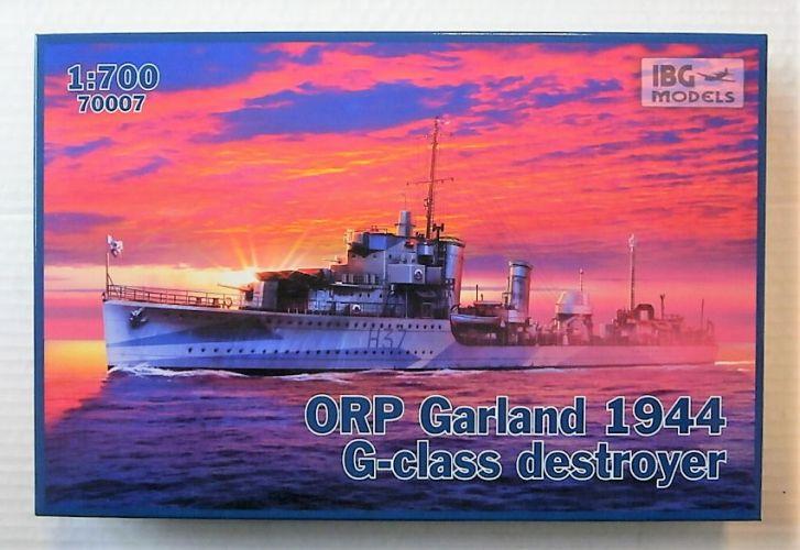 IBG MODELS 1/700 70007 ORP GARLAND 1944 G-CLASS DESTROYER