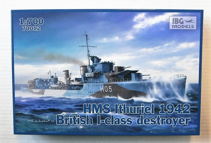 IBG MODELS 1/700 70012 HMS ITHURIEL 1942 BRITISH I-CLASS DESTROYER
