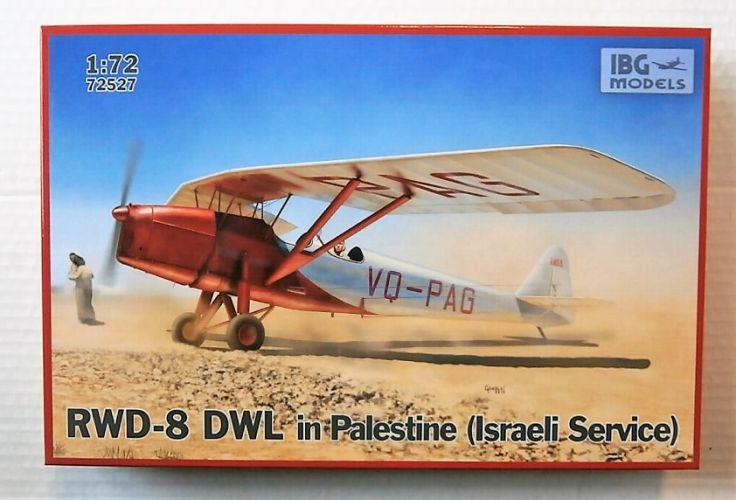IBG MODELS 1/72 72527 RWD-8 DWL IN PALESTINE  ISRAELI SERVICE