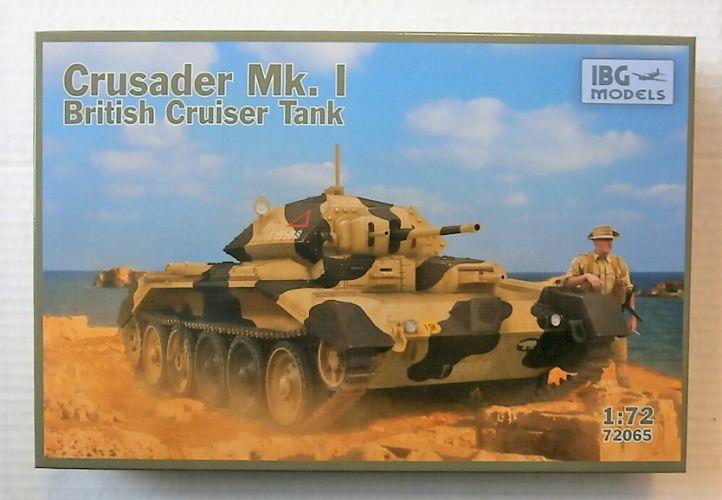 IBG MODELS 1/72 72065 CRUSADER MK.I BRITISH CRUISER TANK