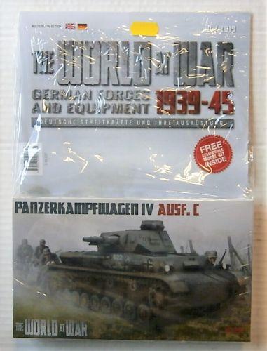 IBG MODELS WORLD AT WAR 1/76 W-010 PANZERKAMPFWAGEN IV AUSF.C