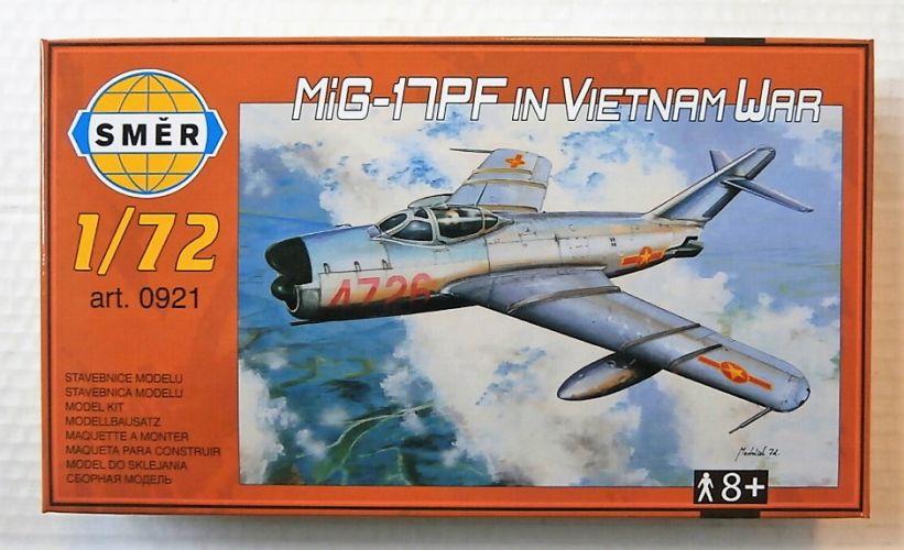 SMER 1/72 0921 MIG-17PF IN VIETNAM WAR