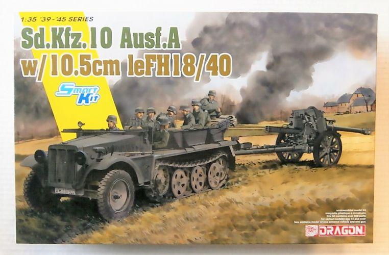 DRAGON 1/35 6939 SD.KFZ.10 AUSF.A w/ 10.5cm leFH 18/40