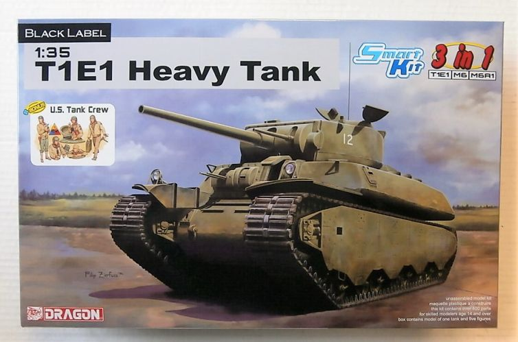 DRAGON 1/35 6936 T1E1 HEAVY TANK