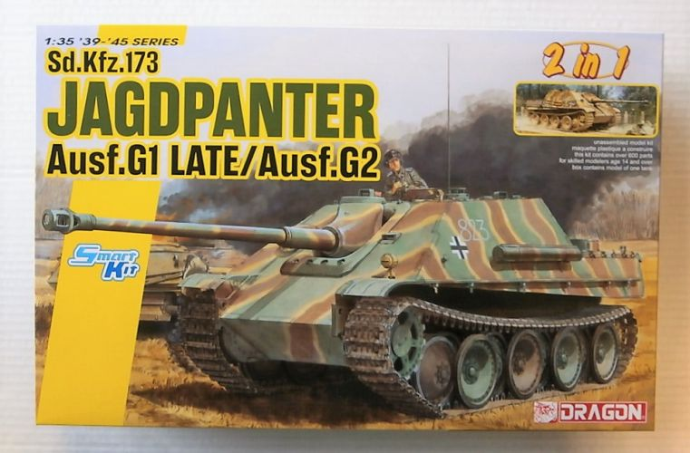 DRAGON 1/35 6924 SD.KFZ.173 JAGDPANTHER AUSF.G1 LATE/ AUSF.G2