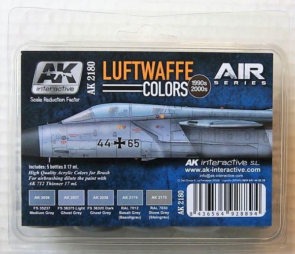 AK INTERACTIVE  AK2180 LUFTWAFFE COLOURS 1990s   2000s