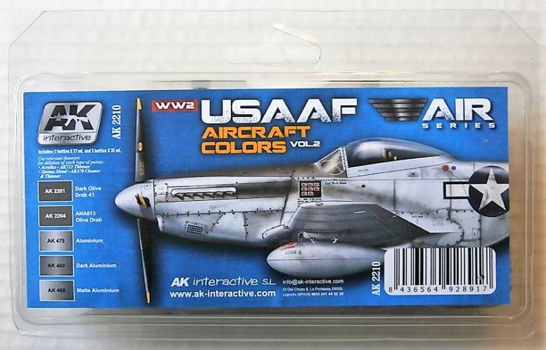 AK INTERACTIVE  AK2210 USAAF COLOURS VOL 2