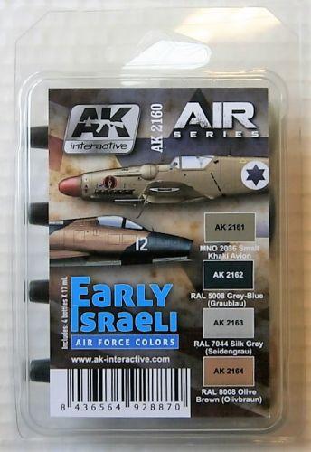 AK INTERACTIVE  AK2160 EARLY ISRAELI AIR FORCE COLOURS