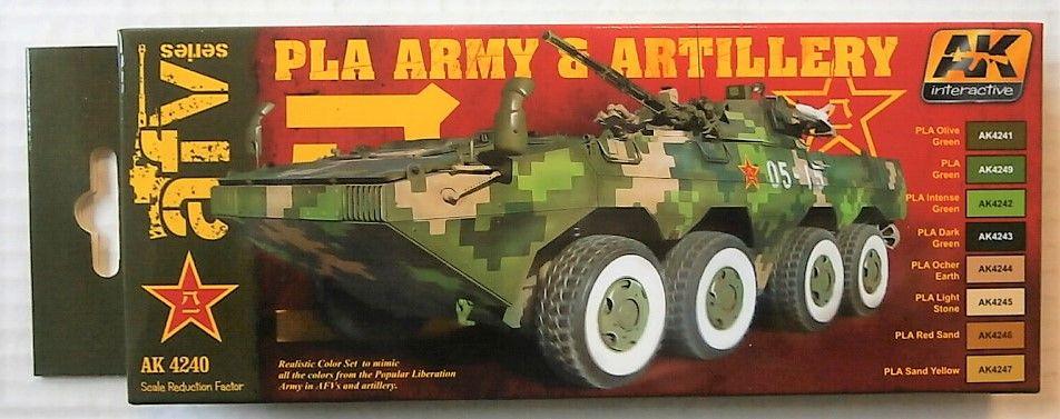 AK INTERACTIVE  AK4240 PLA ARMY AND ARTILLERY