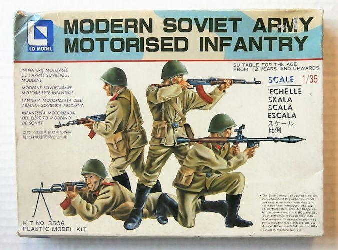 LO MODEL 1/35 3506 MODERN SOVIET ARMY MOTORISED INFANTRY