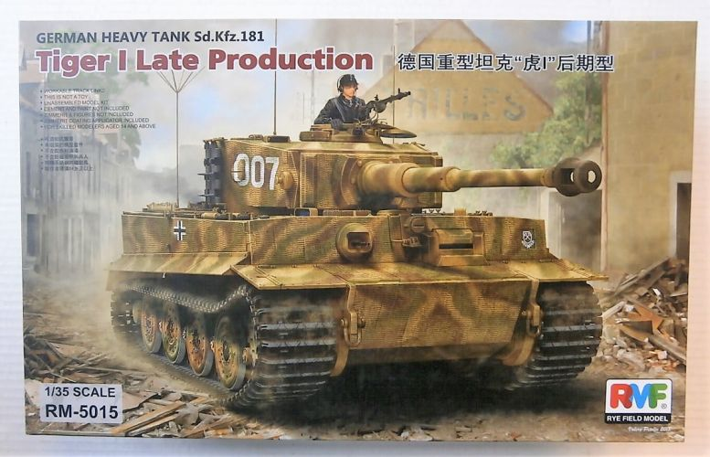 RYE FIELD MODEL 1/35 5015 TIGER I LATE PRODUCTION
