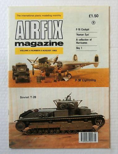AIRFIX  AIRFIX MAGAZINE VOLUME 4 NUMBER 9 AUGUST 1993