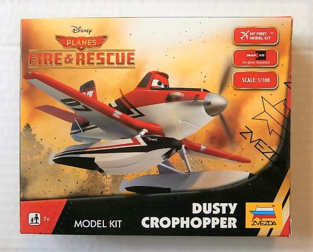 ZVEZDA 1/100 2075 DISNEYS PLANES FIRE   RESCUE DUSTY CROPHOPPER