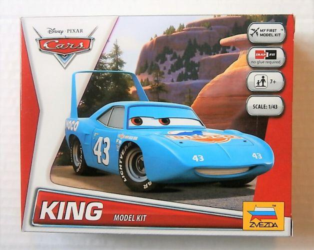 ZVEZDA 1/43 2013 DISNEY PIXAR CARS KING