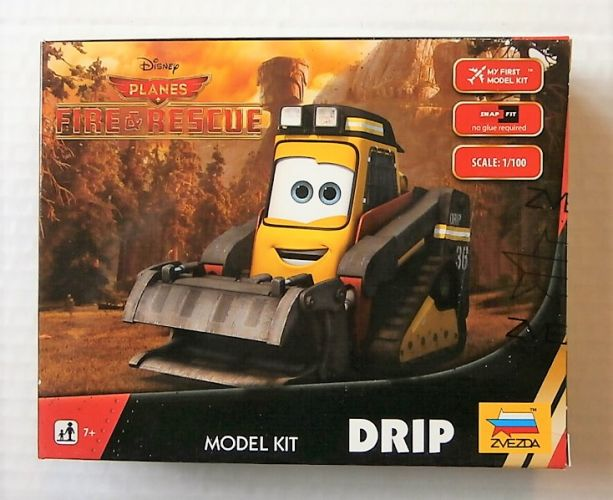 ZVEZDA 1/100 2081 DISNEYS PLANES FIRE   RESCUE DRIP