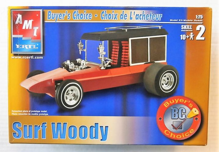 AMT 1/25 31921 SURF WOODY