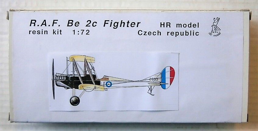 HR MODEL 1/72 7250 R.A.F. BE 2C FIGHTER