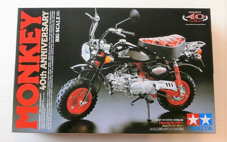TAMIYA 1/6 16032 HONDA MONKEY 40TH ANNIVERSARY