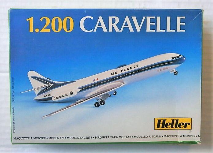 HELLER 1/200 80074 CARAVELLE AIR FRANCE