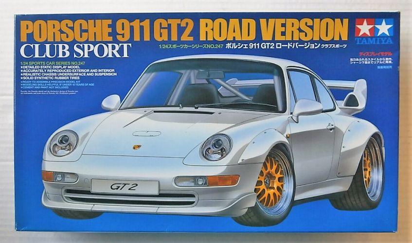 TAMIYA 1/24 24247 PORSCHE 911 GT2 ROAD VERSION CLUB SPORT
