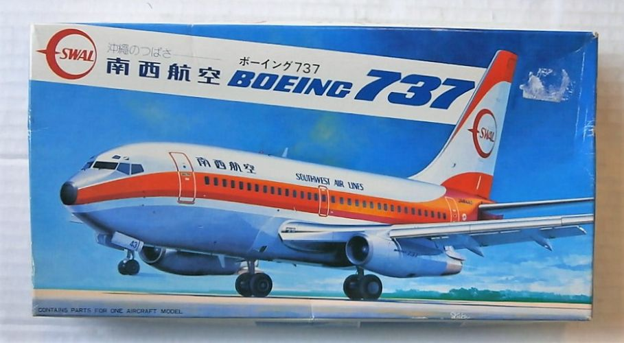 HASEGAWA 1/200 LA7 BOEING 737 SOUTH WEST AIRLINES