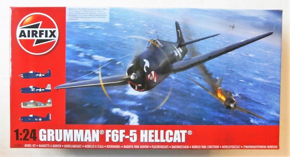 AIRFIX 1/24 19004 GRUMMAN F6F-5 HELLCAT  UK SALE ONLY