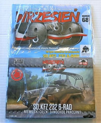 FIRST TO FIGHT 1/72 068 Sd.Kfz.232 6-RAD GERMAN HEAVY ARMOURED CAR