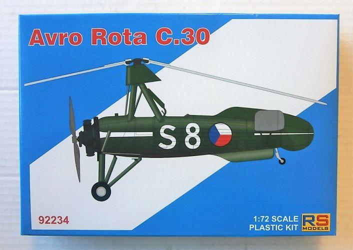 RS MODELS 1/72 92234 AVRO ROTA C.30