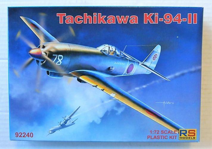 RS MODELS 1/72 92240 TACHIKAWA KI-94-II