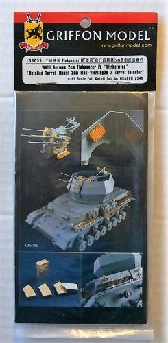 GRIFFON MODEL 1/35 L35035 WWII GERMAN 2CM FLAKPANZER IV WIRBELWIND