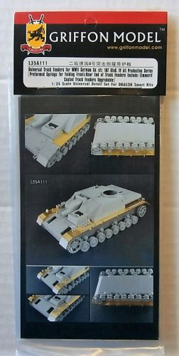 GRIFFON MODEL 1/35 L35A111 UNIVERSAL TRACK FENDERS FOR WWII GERMAN SD.KFZ.167 STUG IV