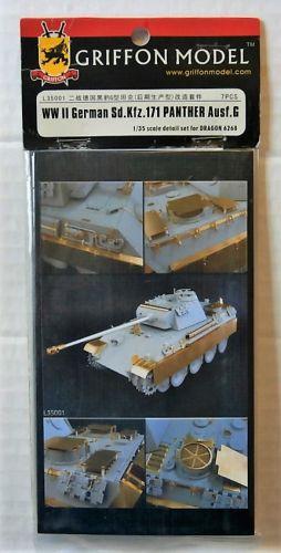 GRIFFON MODEL 1/35 L35001 WWII GERMAN SD.KFZ.171 PANTHER AUSF.G