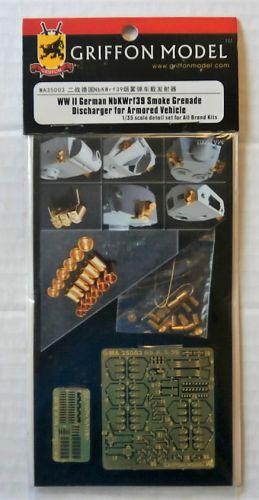 GRIFFON MODEL 1/35 MA35003 WWII GERMAN NBKWRF39 SMOKE GRENADE DISCHARGER FOR ARMOURED VEHICLE