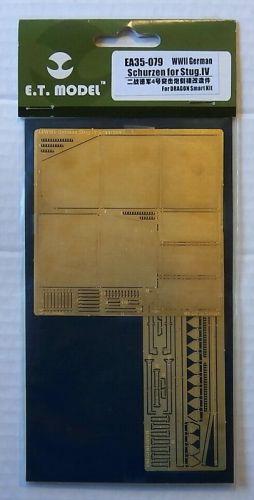 E.T. MODEL 1/35 EA35-079 WWII GERMAN SCHURZEN FOR STUG IV