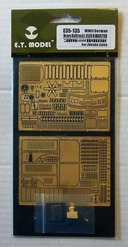 E.T. MODEL 1/35 E35-135 WWII GERMAN HEAVY HALF-TRACK L4500 R MAULTIER