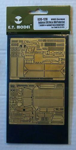 E.T. MODEL 1/35 E35-128 WWII GERMAN JAGDPANZER 38 t  HETZER MID PROD